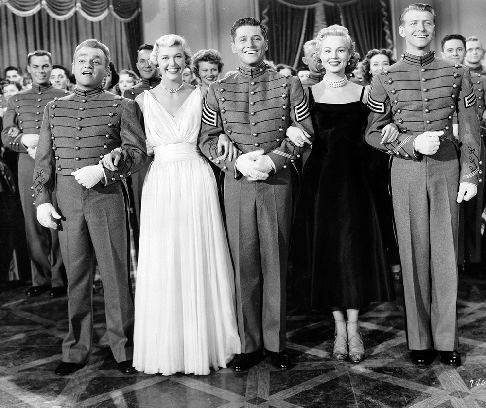 Doris Day West Point Story Cagney MacRae Mayo Nelson