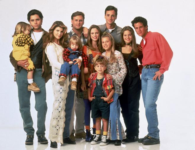 Season 7 cast of Full House