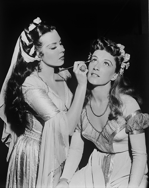 Ann Miller and Carol Haney