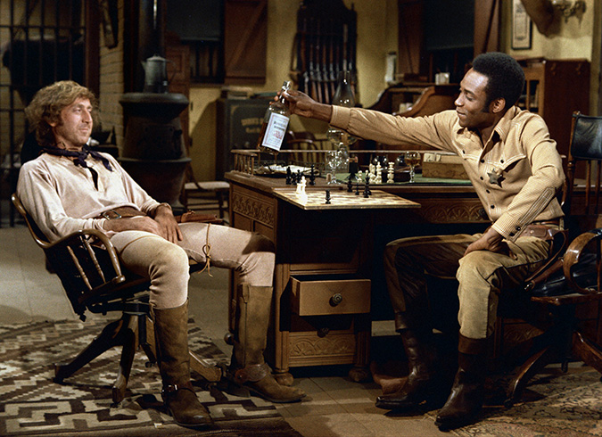 Gene Wilder plays Jim aka the Waco Kid