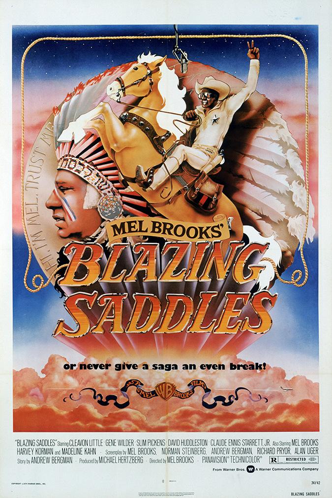 Mel Brooks Blazing Saddles