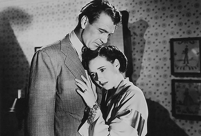 gary cooper and teresa wright both received Oscar nominations for their performances as Lou and Eleanor Gehrig.