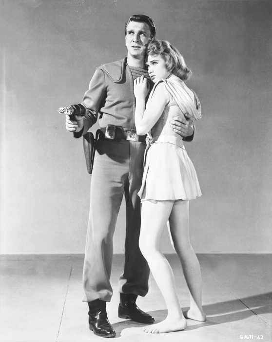 Leslie Nielson and Anne Francis