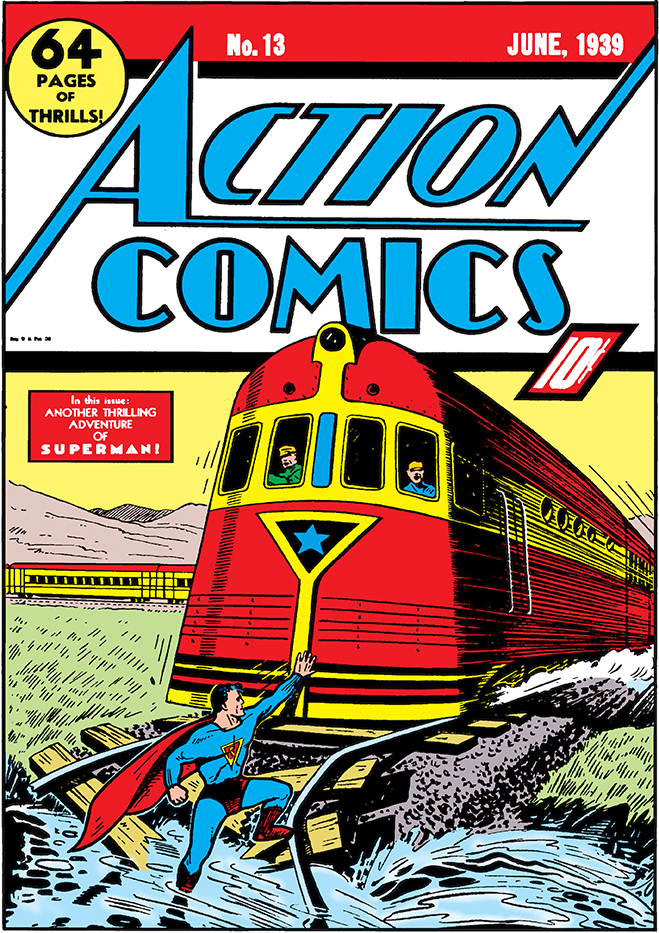 cover of Action Comics #13