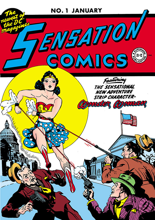 1942: Wonder Woman Arrives in Man's World