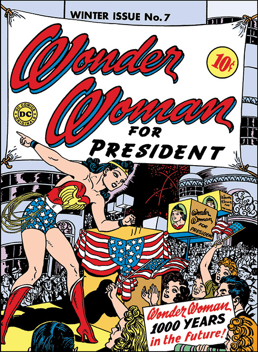 1943:Wonder Woman for President