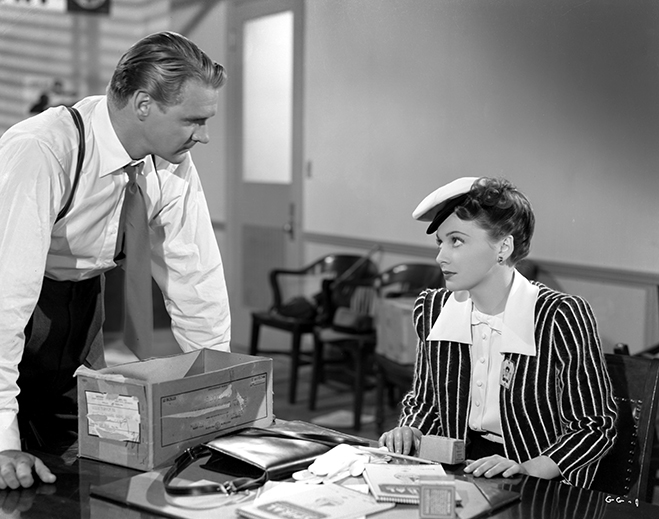 Olivia de Havilland (with Sonny Tufts) had a chance to fully display her comedic side in Government Girl.