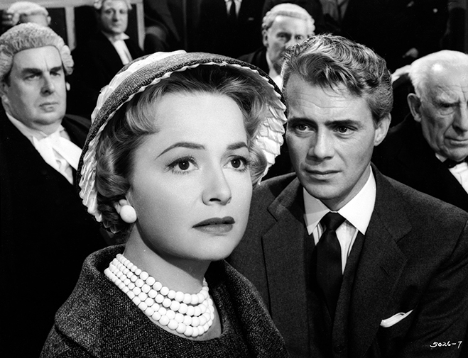Olivia de Havilland starred with Dirk Bogarde and Robert Morley in this British courtroom drama.