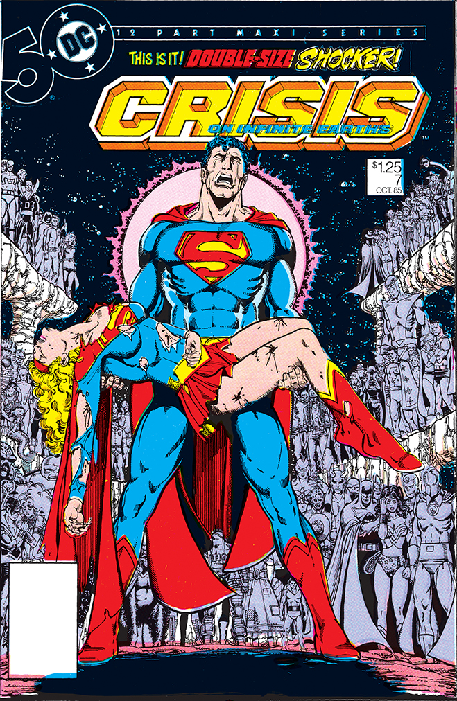 cover of the end of the pre-crisis superman and lois, published in 1985