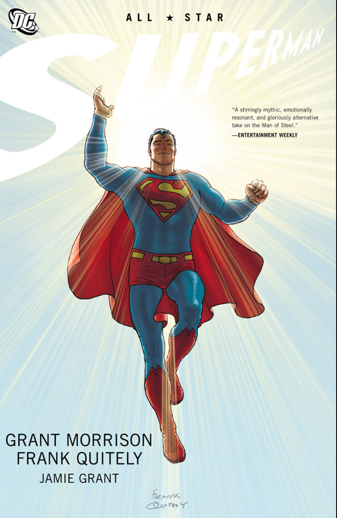 cover of all-star superman, published in 2011