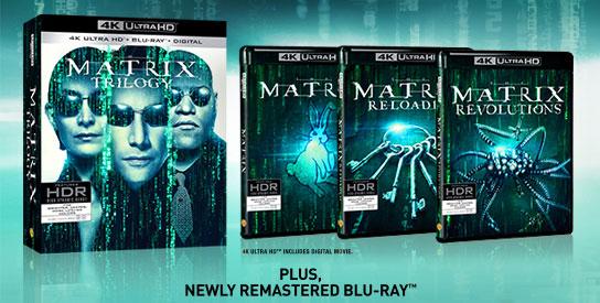 Matrix Trilogy - Disc Set