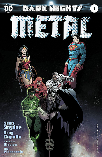 dark nights: metal premiere issue cover