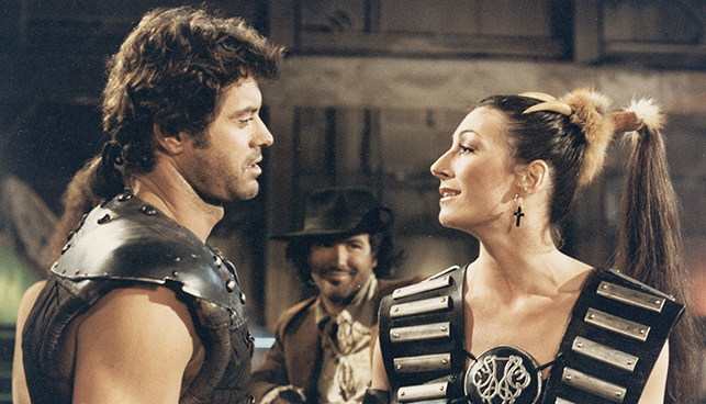 robert urich and angelica huston in the ice pirates