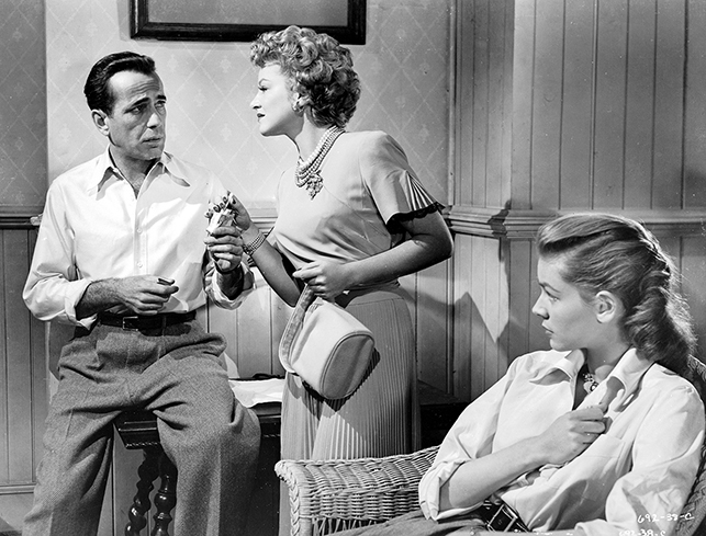 bogart and bacall in key largo