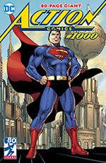 cover of action comics #1000