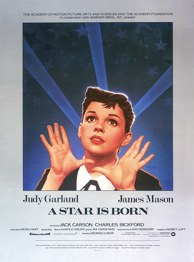A Star is Born 1983 restoration poster