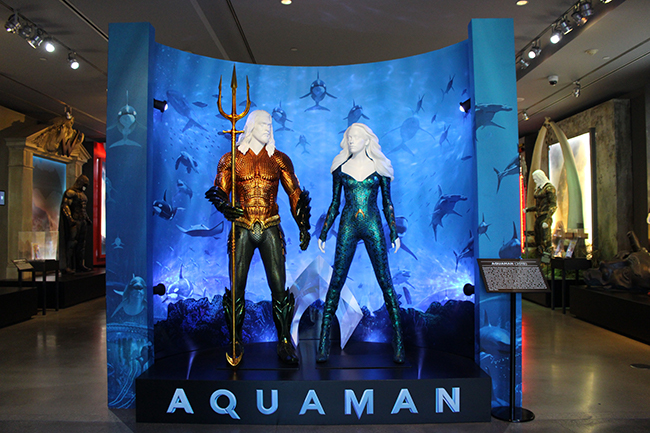 Studio Tour Hollywood - Aquaman Costumes
