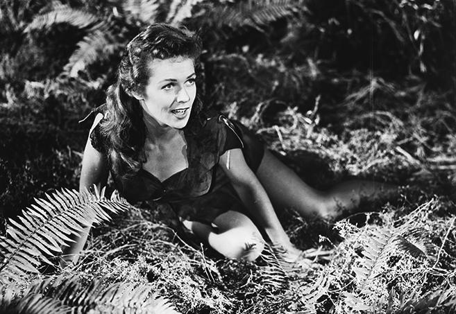 joyce mackenzie starred as jane opposite lex barker in 1953's Tarzan and the She-Devil