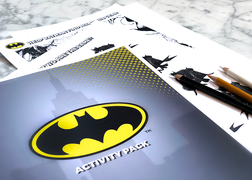 Batman Digital Activity Book