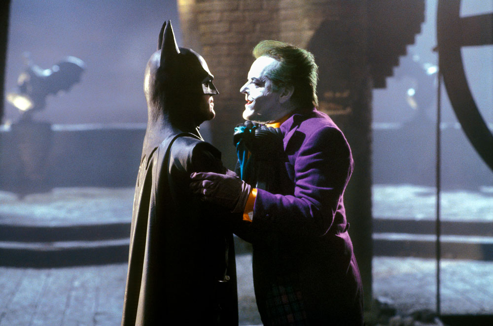 Batman (1989) - Batman and Joker