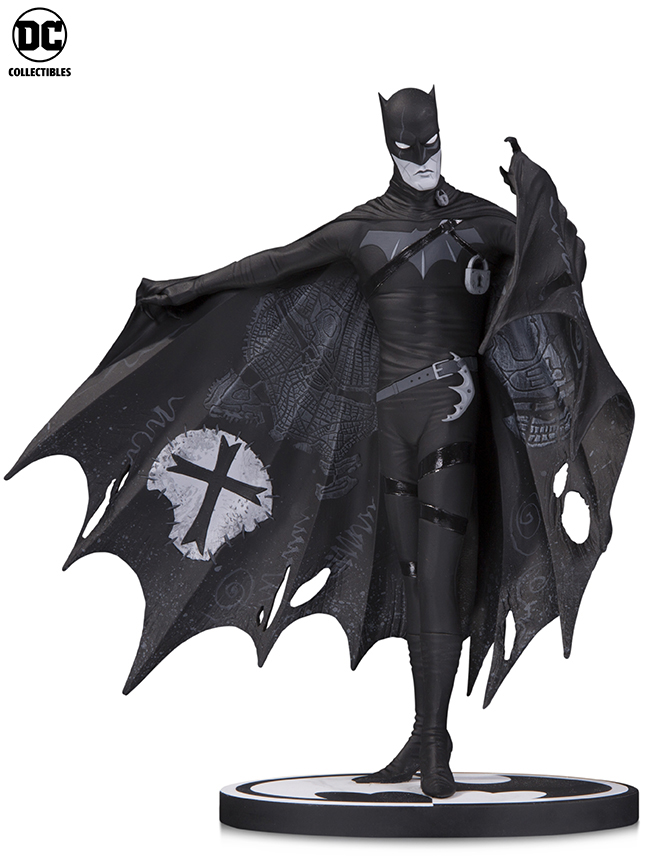 Gerard Way's take on DC's iconic Batman character for the company's longest-running statue line, Batman: Black & White.