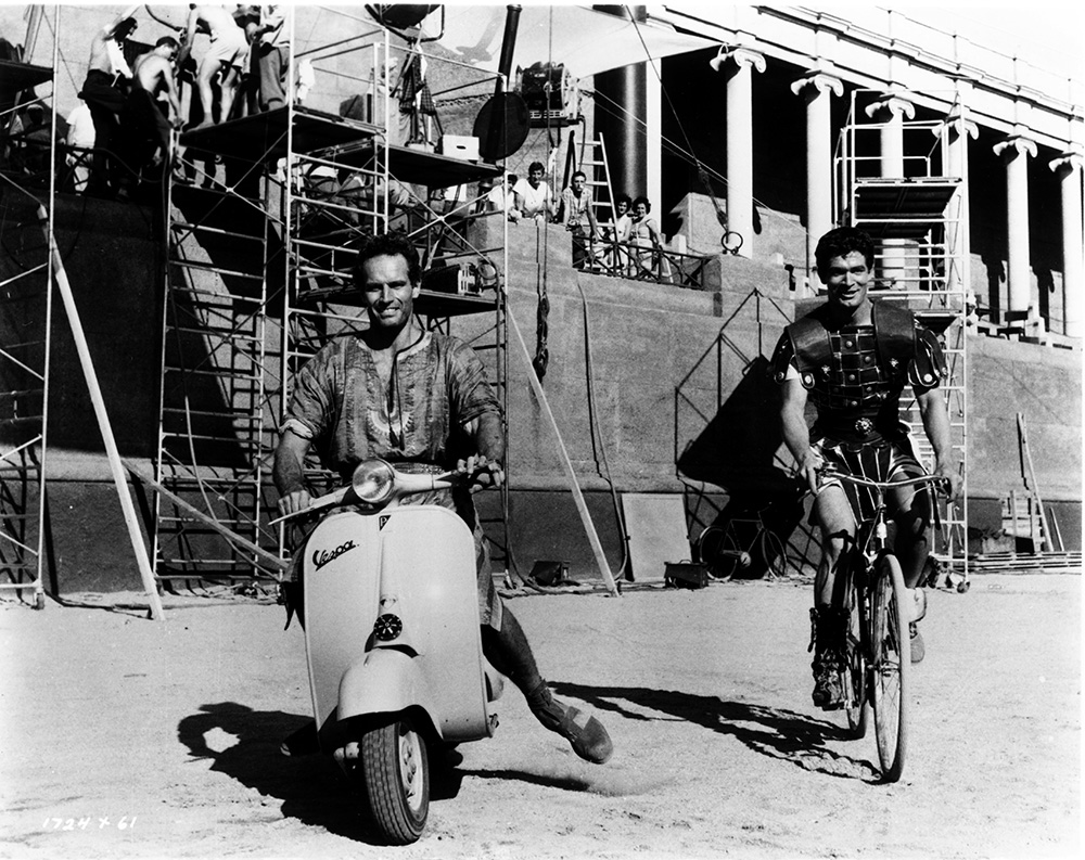 Ben-Hur (1959) Charlton Heston and Stephen Boyd