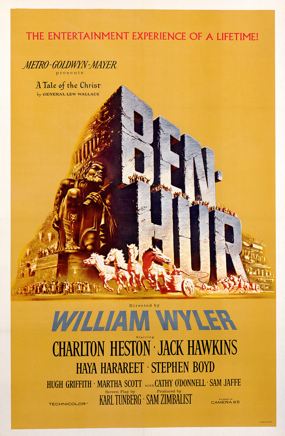 Ben-Hur (1959) one-sheet poster
