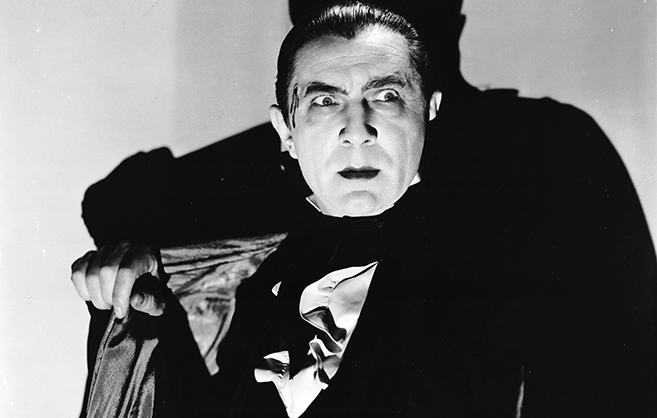 Bela Lugosi in Mark of the Vampire