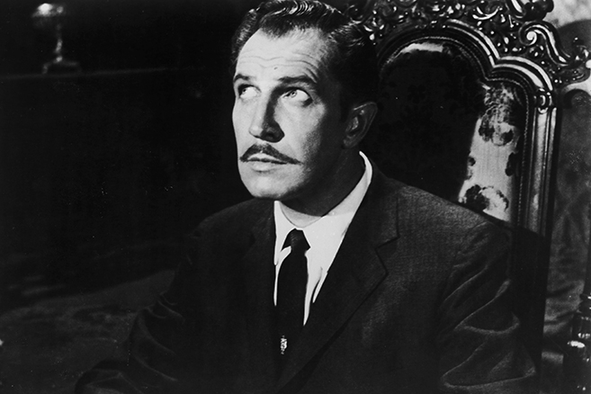 Vince Price in House on Haunted Hill