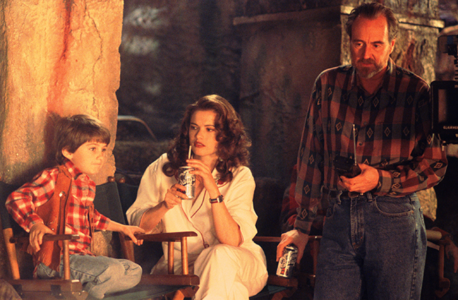 Wes Craven pictured in 1994's New Nightmare
