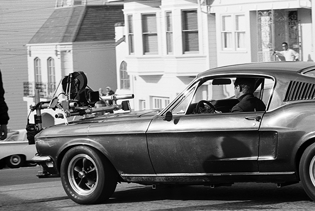 Bullitt - Steve McQueen in the Mustang