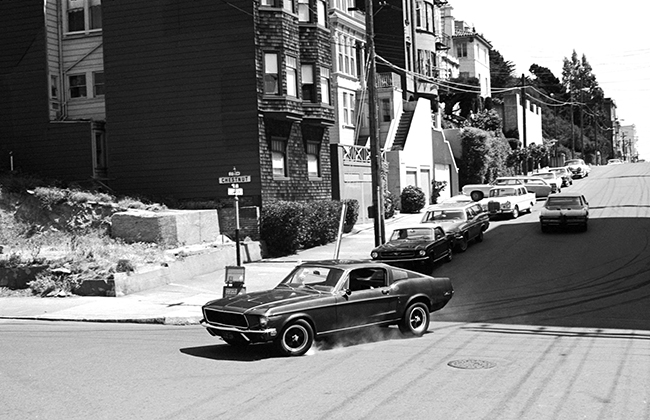 Bullitt - Ford Mustang and Dodge Charger