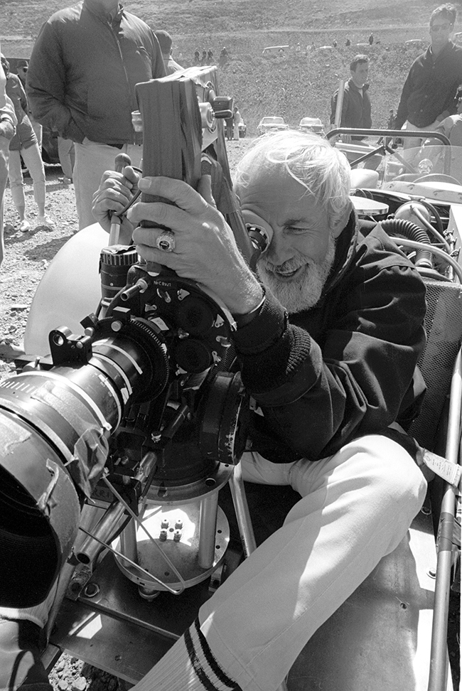 Cinematographer William A. Fraker