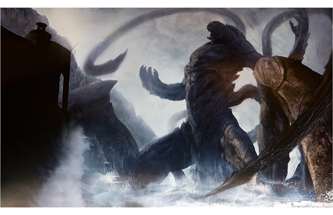 The Kraken from Clash of the Titans (2010)