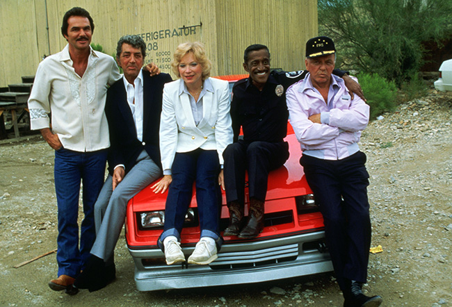 Cannonball Run 2 - Burt Reynolds