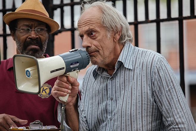 Christopher Lloyd pictured in Going in Style.