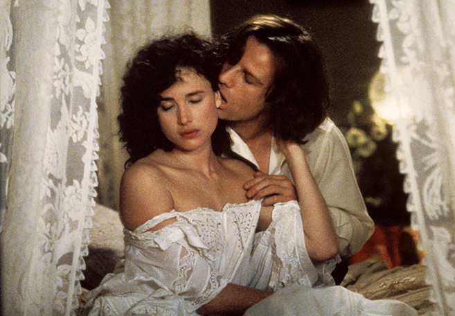 Future three-time Golden Globe nominee Andie MacDowell made her big screen debut as Jane Porter but due to her southern accent, her dialogue was later dubbed by Glenn Close.