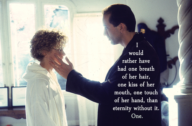 meg ryan and nicholas cage in city of angels