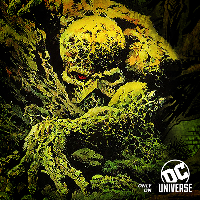 swamp thing coming to dc universe in 2019