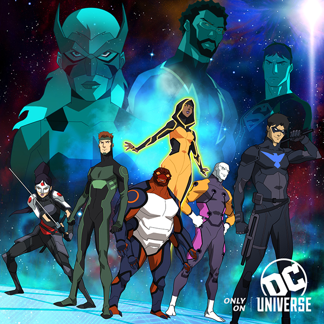 young justice: outsiders coming exclusively to dc universe