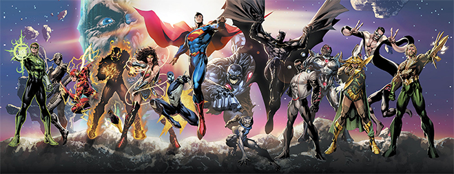 DC New Age of Heroes characters