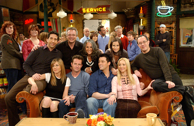 cast and crew of Friends