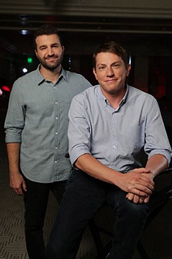 Producers David Katzenberg and Seth Grahame-Smith.