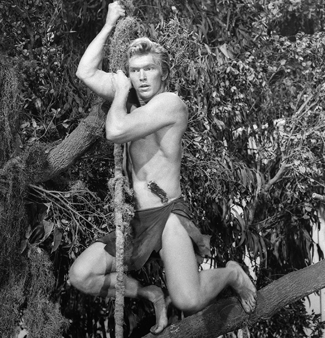 denny miller the first blond lord of the jungle starred in the 1959 remake of Tarzan the Ape Man