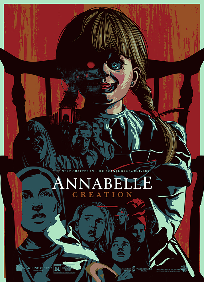 Edz Gatdula's winning entry in the Annabelle: Creation Artwork Contest