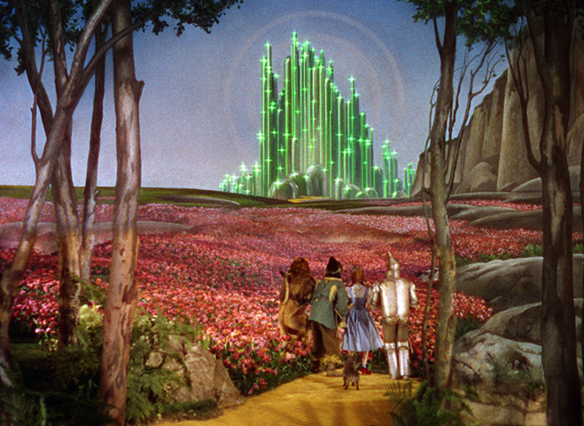 The Yellow Brick Road to the Emerald City