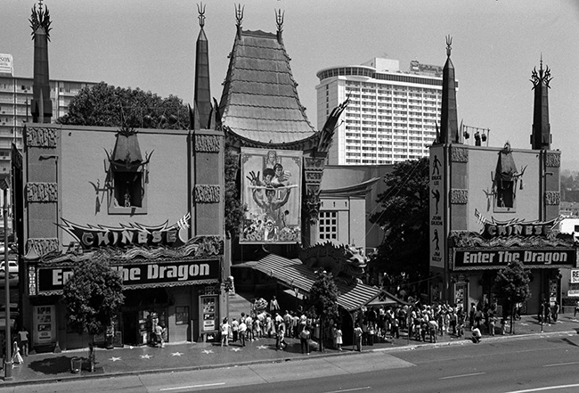 Enter the Dragon's Hollywood premiere at Mann's Chinese Theater
