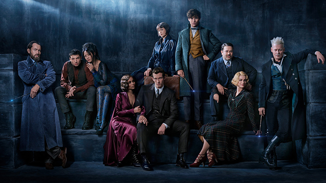 Cast of Fantastic Beasts two