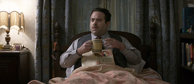 """Dan Foger plays Jacob Kowalski, """"the baker from the fairy tale."""""""