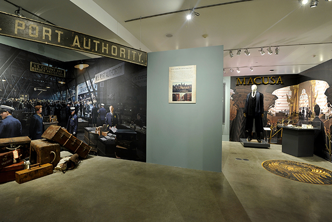 sets and props from fantastic beasts and where to find them are now part of the warner bros. studio tour hollywood